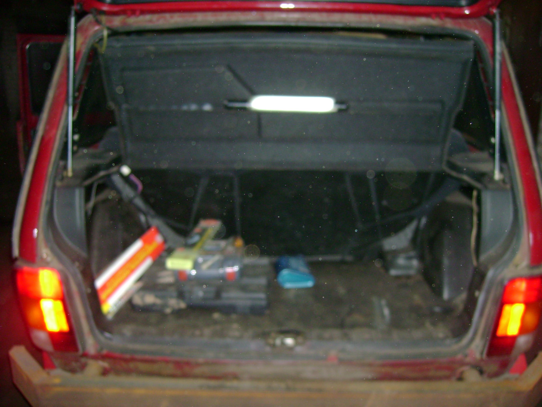 Нива Клуб - Органайзер в багажник Нивы 38